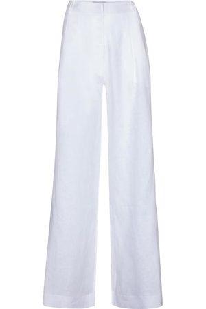 ASCENO Rivello wide-leg linen pants