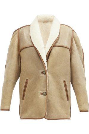 Isabel Marant Anawa Shearling Jacket - Womens