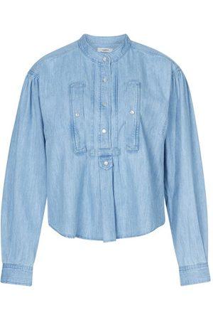 Isabel Marant Madoc denim blouse