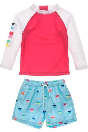 Snapper Rock Infant Boy's Maritime Fliers Two-Piece Rashguard Swimsuit