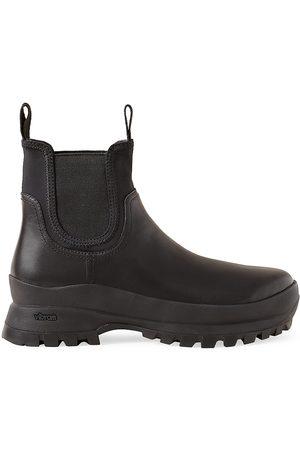 Loeffler Randall Women's Tara Lug-Sole Leather Chelsea Boots - - Size 10