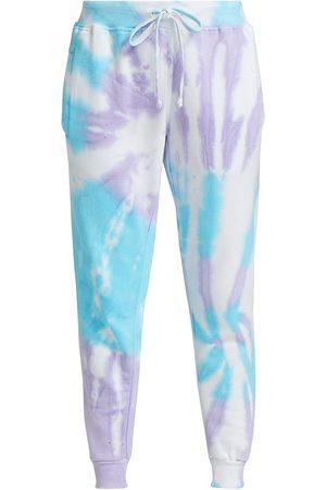 Worthy Threads Women Sweatpants - Women's Mermaid Tie-Dye Joggers - - Size XS