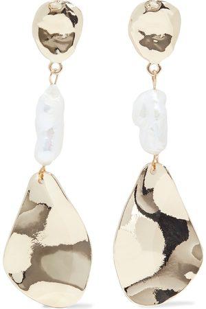 Kenneth Jay Lane Women Earrings - Woman -plated Faux Pearl Earrings Size