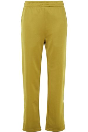Acne Studios Women Straight Leg Pants - Woman Jersey Straight-leg Pants Army Size S