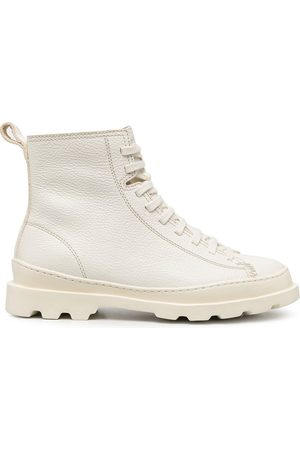 Camper Brutus lace-up boots - Neutrals