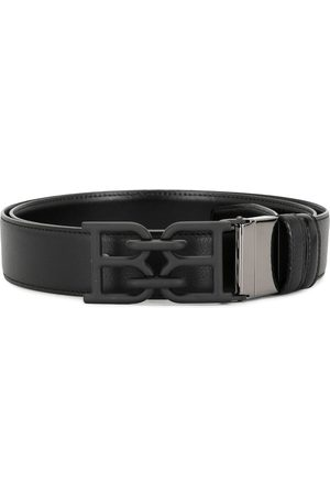 Bally Men Belts - Tonal B chain leather belt