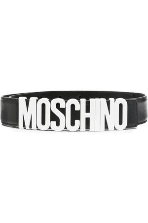 Moschino Logo buckle belt