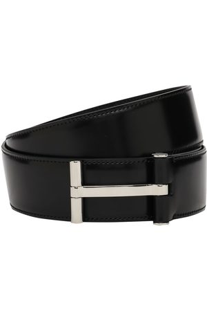 Tom Ford 4cm T Classic Leather Belt