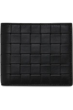 Bottega Veneta Men Wallets - Intreccio Leather Billfold Wallet