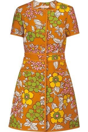 Tory Burch Floral twill minidress