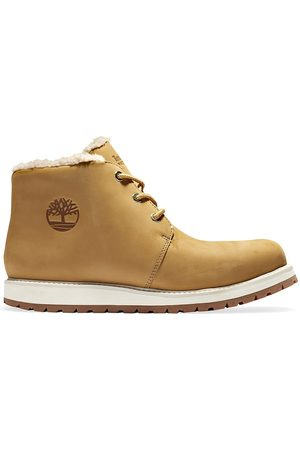 Timberland Men's Richmond Ridge Faux Fur-Lined Waterproof Chukka Boots - - Size 10
