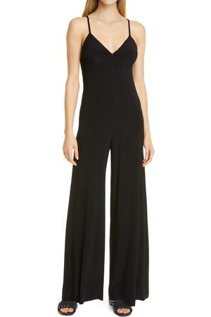 Norma Kamali Women's Wide Leg Jumpsuit