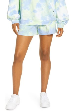 BY DYLN Women's By. dyln Lincoln Tie Dye Cotton Blend Shorts