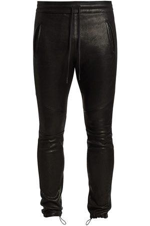 JOHN ELLIOTT Leather Escobar Pants