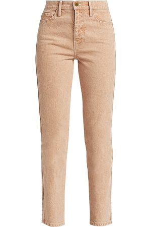 Frame Women's Le Sylvie High-Rise Crop Straight Jeans - - Size 29 (6-8)