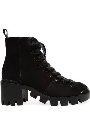 Schutz Women's Xayane Stack Heel Booties - - Size 10.5