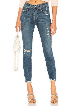 Lovers + Friends Mason High-Rise Skinny Jean in Blue.