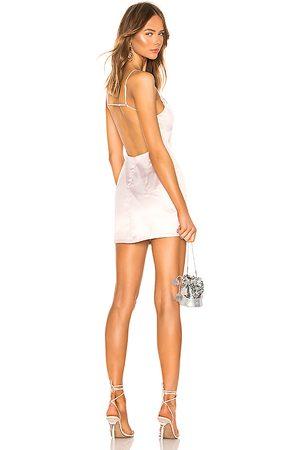 superdown Nicole Mini Dress in Beige.
