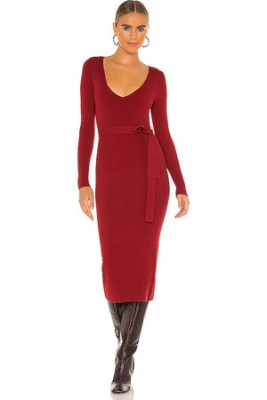 House of Harlow X REVOLVE Aaron Knit Dress in Red.