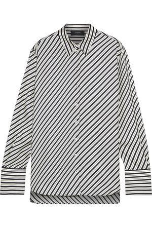 Joseph Woman Doy Striped Silk-twill Shirt Size 34