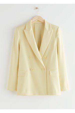 & OTHER STORIES Boxy Double Breasted Jacket