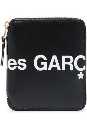 Comme des Garçons Wallets - Logo-print zip-fastening wallet