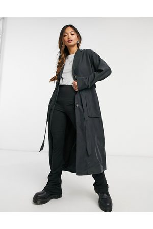 Monki Julie trench coat in
