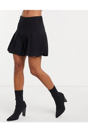 Weekday Pleated mini skirt in
