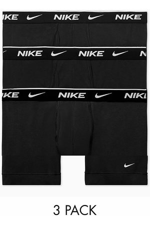 Nike Cotton Stretch 3-pack boxer briefs in
