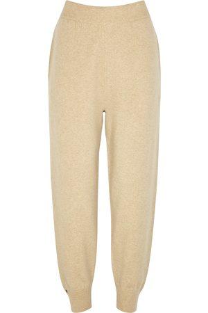EXTREME CASHMERE N°56 Yogi cream cashmere-blend sweatpants