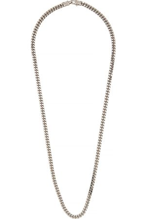 TOM WOOD Men Necklaces - Curb L sterling chain necklace