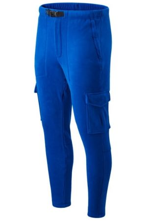 New Balance Men's Kl2 Polar Fleece Cargo Pant - Blue (MP03598TRY)