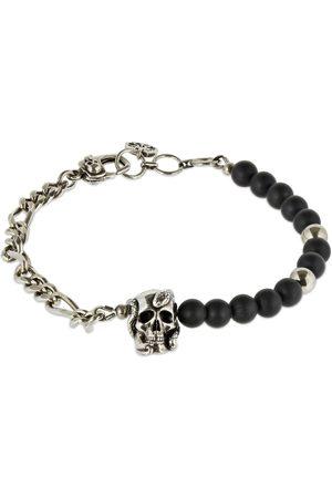 Alexander McQueen Beads & Skull Bracelet