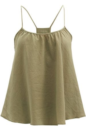 Loup Charmant Scoop-neck Organic-cotton Cami Top - Womens