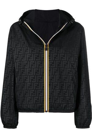 Fendi X K-Way® reversible foldable jacket