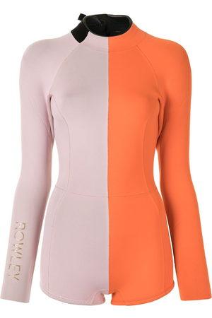 Cynthia Rowley Logan color-block wetsuit