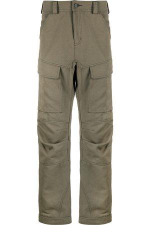 KOCHÉ Men Cargo Pants - Straight-leg cargo trousers