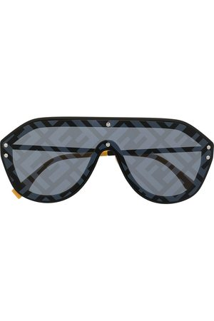 Fendi Fabulous printed aviator sunglasses
