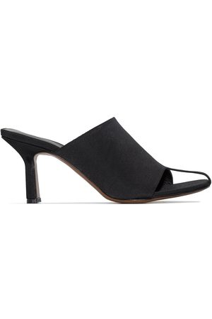 Neous Jumel 80mm square-toe thong mules