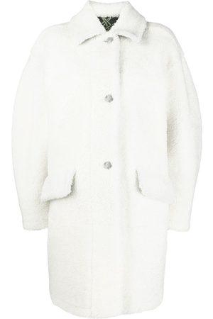 Mr & Mrs Italy Women Coats - Oversized shearling coat