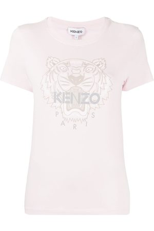 Kenzo Women T-shirts - Tiger-print T-shirt