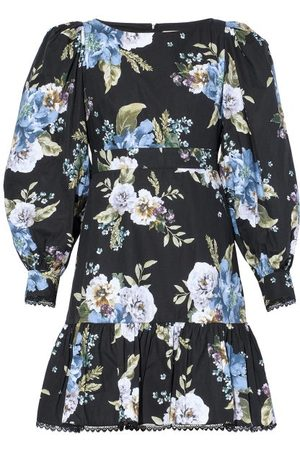Erdem Rydal Carnation Bouquet-print Cotton Dress - Womens - Print