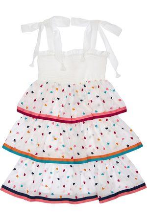 ZIMMERMANN Poppy Hearts Printed Cotton Dress