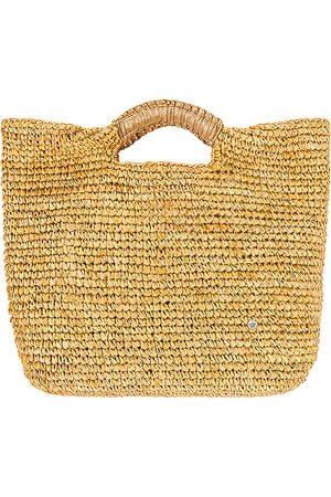 florabella Small Napa Lux Bag in Tan.