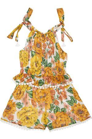 ZIMMERMANN Poppy Printed Cotton Jumpsuit