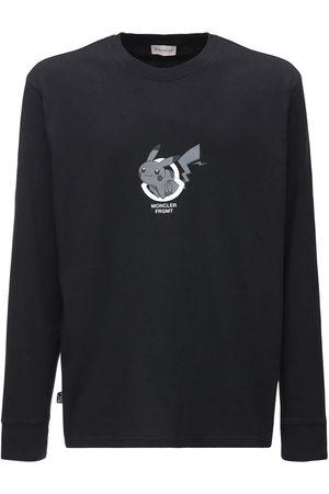 Moncler Genius Fragment Pikachu Long Sleeve T-shirt