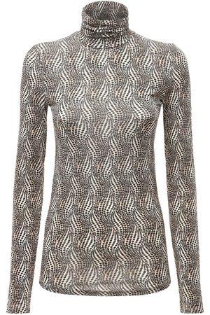 Isabel Marant Women Tops - Goyela Printed Stretch Top