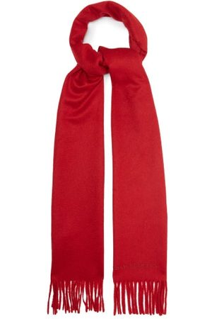 Alexander McQueen Fringed Cashmere Scarf - Mens