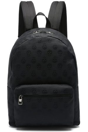 Alexander McQueen Men Rucksacks - Metropolitan Biker Skull Coated-canvas Backpack - Mens