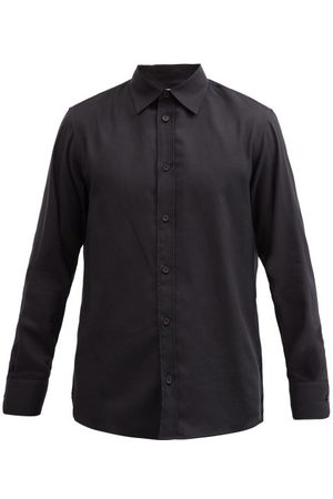 The Row Men Shirts - Robin Cotton-blend Twill Shirt - Mens